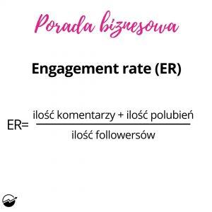 Engagement Rate naInstagramie towskaźnik zaangażowania konta